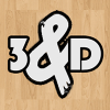 3 and D logo