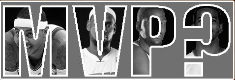 MVP Carmelo Anthony Chris Paul LeBron James Kevin Durant