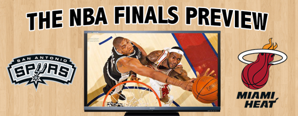 NBA Finals Preview Duncan LeBron Heat Spurs