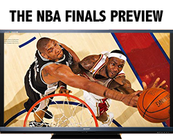 Spurs and Heat play in 2013 finals