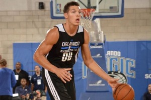 Aaron Gordon looked like a force to be reckoned with in the summer league opener.