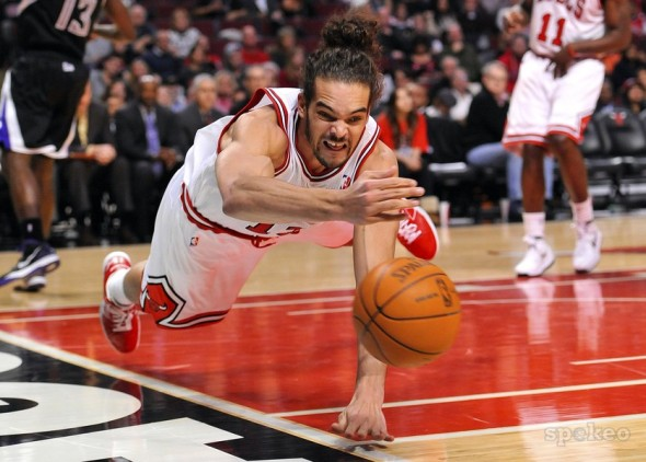 Joakim Noah is the heart and soul of the Chicago Bulls and brings it every single night.